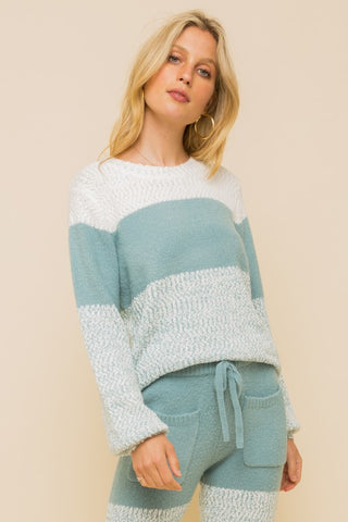 Krisy Cashmere-Feel Lounge Sweater