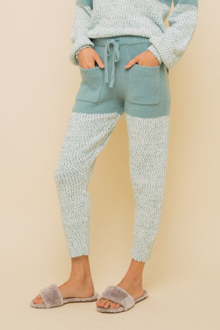 Krisy Cashmere-Feel Lounge Pants