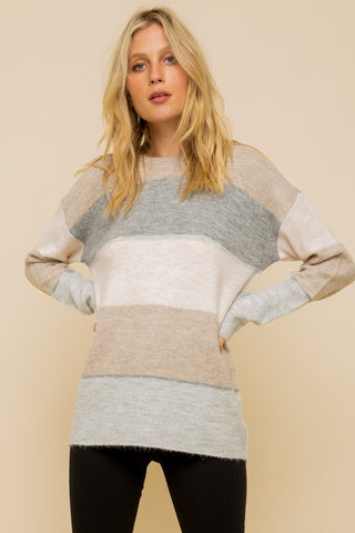 Candice Cashmere-Feel Pull Over Sweater