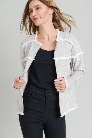Fringe Open Jacket
