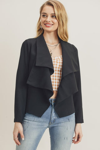 Double Layer Collar Jacket