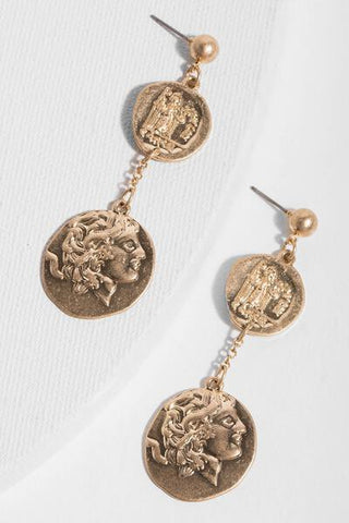 Caesar Drop Earrings