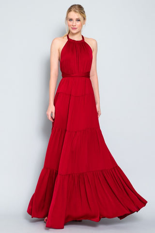 Scarlet Envy Off-the-Ball Dress
