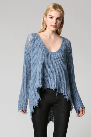 Clarissa Cashmere-Feel Knit Sweater