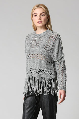 Marnie Cashmere-Feel Hem Sweater