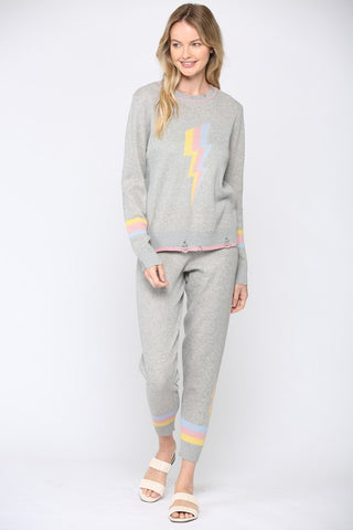 Gisselle Color Block Loungewear Set