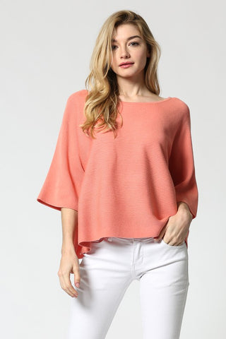 Gladis Cropped Knit Top