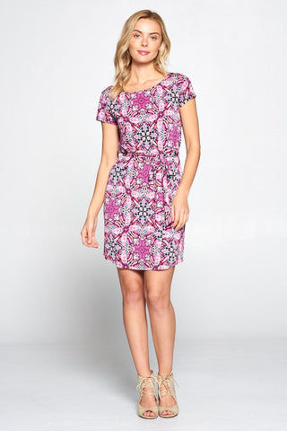 Alondra Getaway Dress - Pink