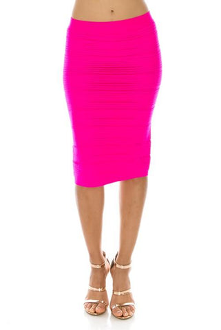 Magic Skirt Neon Pink