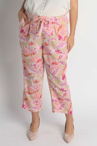 Palm Printed Blazer Pants
