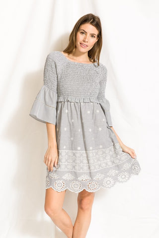 Margaret Puff Sleeve Dress