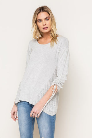 Crissy Summer Knit Top