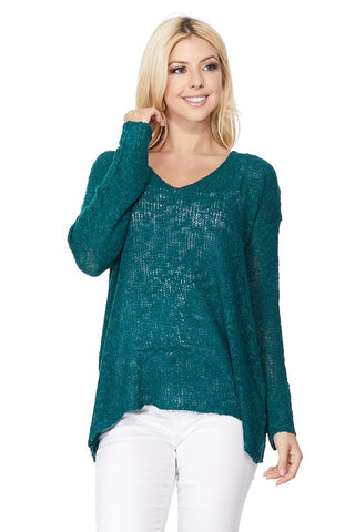 Resort Weight Magic V-Neck Sweater- 12 colors