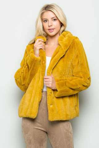 Tinsdale Faux Fur Hooded Jacket