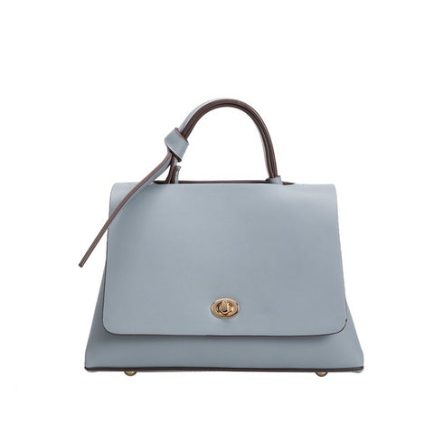 Camilla Blue Top Handle Bag