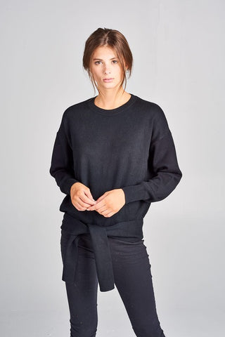 Hunter Crew Neck Knit Top