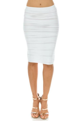 Magic Skirt White