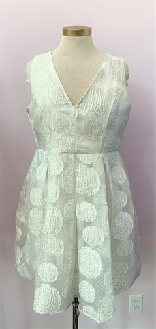 Fit & Flare White Princess Dress