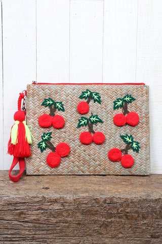 Cherry Topper Clutch