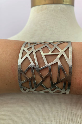 Proliferated Sterling Silver Cuff Bracelet