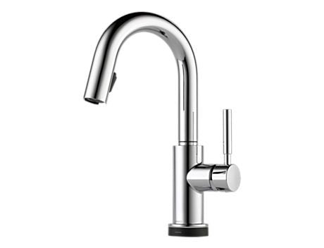 SOLNA SINGLE HANDLE SINGLE HOLE PULL-DOWN BAR/PREP WITH SMARTTOUCH® TECHNOLOGY CHROME
