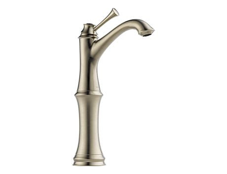 BRIZO BALIZA SINGLE HANDLE SINGLE HOLE VESSEL LAVATORY FAUCET BRILLIANCE BRUSHED NICKEL