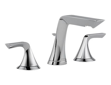 BRIZO SOTRIA TWO HANDLE WIDESPREAD LAVATORY FAUCET CHROME