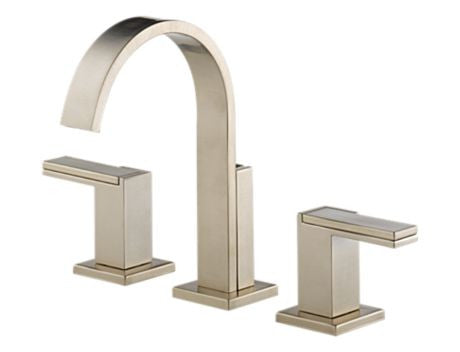 BRIZO SIDERNA WIDESPREAD LAVATORY  BRILLIANCE BRUSHED NICKEL