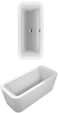 Villeroy & Boch Loop & Friends Square Bañera Rectangular