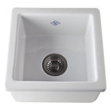 Shaws Original Fireclay Single Bowl Kitchen Or Bar Prep Sink