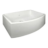 Shaws Waterside Single Bowl Bowed Fireclay Apron Sink