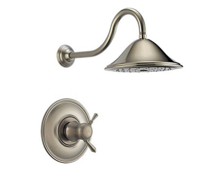 BRIZO TRADICIONAL TEMPASSURE® DUCHA TERMOSTÁTICA TRIM BRILLIANCE BRUSHED NICKEL