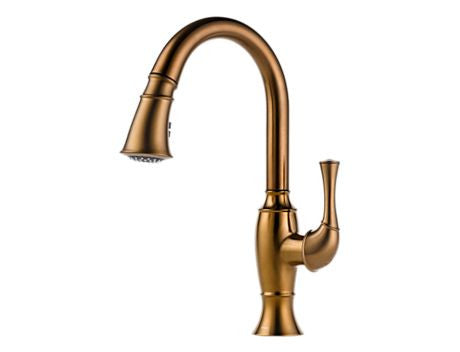 TALO SINGLE HANDLE PULL-DOWN KITCHEN FAUCET BRUSHED BRONZE