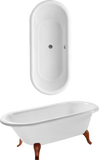 Villeroy and Boch HOMMAGE Bañera oval