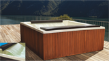 Aqua Spa Iguazu Hot Tub, Tina de Jardin
