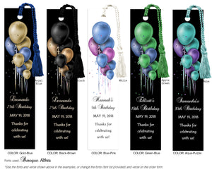 Birthday Bookmarks - 1