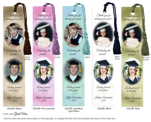Multiple Photo Graduation Bookmarks