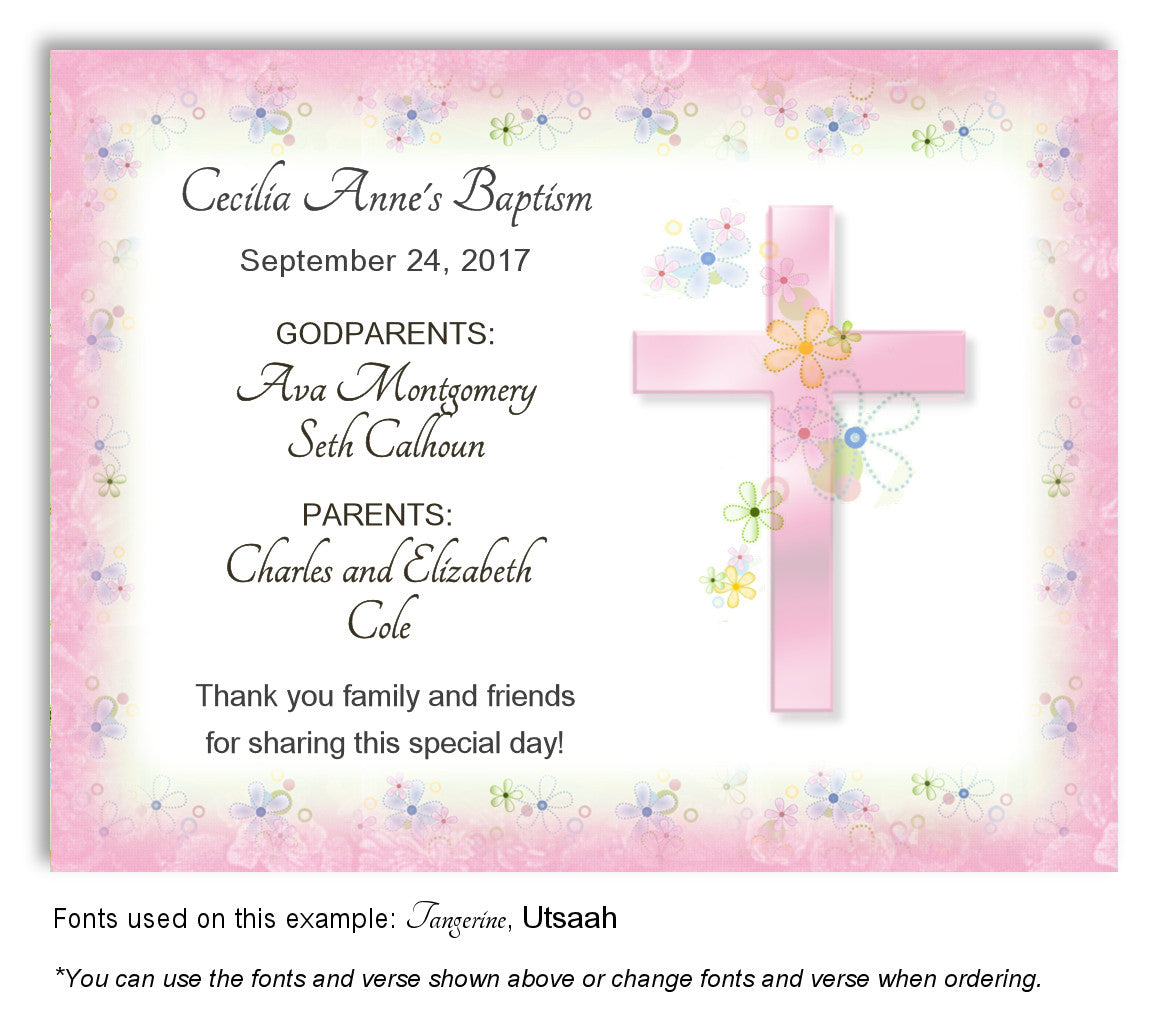 Baptism Christening Magnets Favorlady