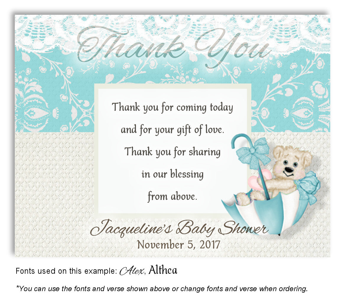 Beary Cute Baby Shower Magnets 12 Favorlady