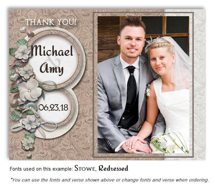 Pink-Lavender Floral Petals Save the Date Wedding Photo Magnet