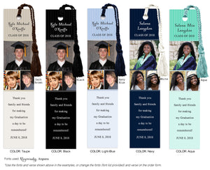 Graduation Photo Bookmark