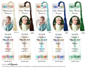 Communion Photo Bookmark with Mosaic Cross