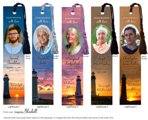 Lighthouse Bookmark Scenes