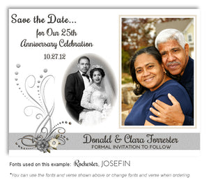 Silver-Love-in-Bloom-Save-the-Date-Anniversary-Photo-Magnet