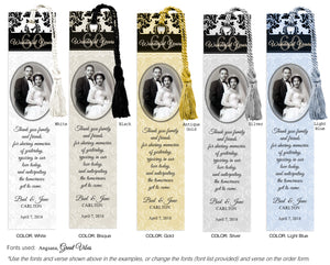 Anniversary Photo Bookmarks - 9