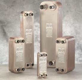 Brazed Plate Heat Exchanger 10-Plate 1""