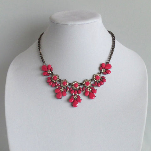 Statement Pink Necklace