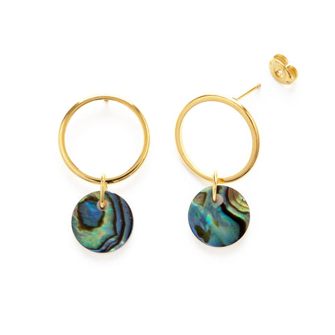 Playa Abalone Earrings