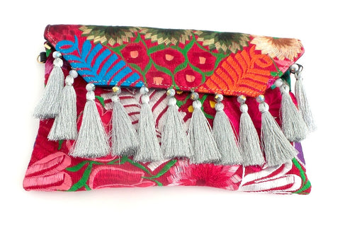 Flor Chiapaneca Clutch by Amor Eterno *click for more colors - Estilo Concept Store