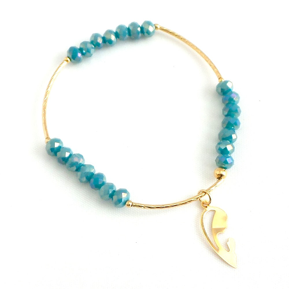 Virgin Mary Charm Bracelet *click for more colors - Estilo Concept Store